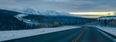 Alaska Highway to Kluane Range