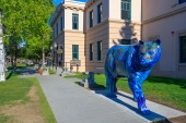 Anchorage Blue Bear on Parade