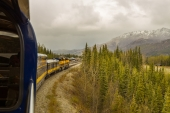Arriving at Denali Park Depot