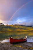 Canoe Under the Rainbow