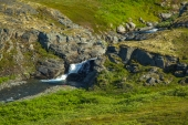 Falls on Ptarmigan Creek