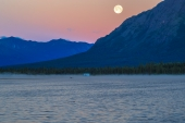 Full Moon Over Pippin Lake