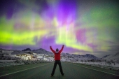Hug the Northern Lights on the Richardson Highway
