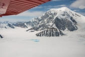Mount Foraker Under Wing