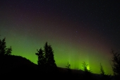 Northern Lights in Southeast AK