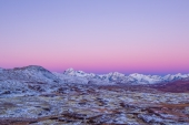 Pink Morning on Haines Summit
