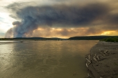 Smoke Over the Tanana