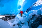 Worthington Glacier Inspection