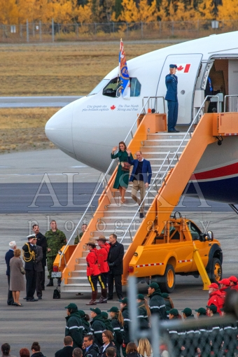 William and Kate in Whitehorse