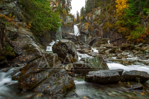 Autumn Flows at Liberty Falls