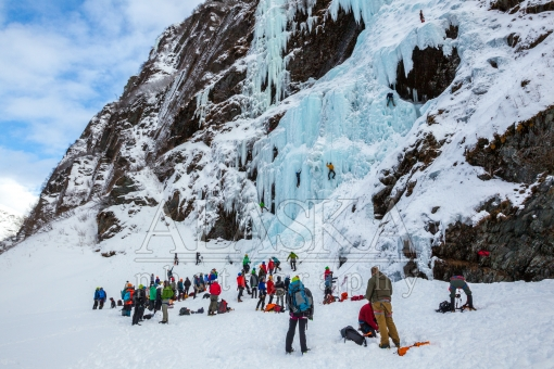 2016 Valdez Ice Fest  at Bridal Veil