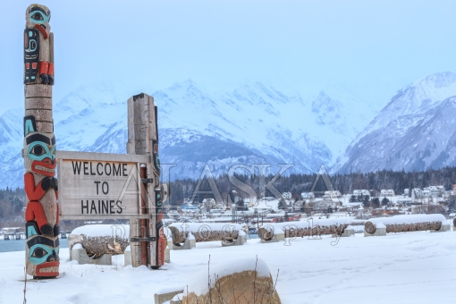 A Winter Welcome to Haines