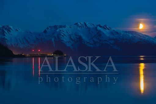 Alyeska Terminal and the Moon