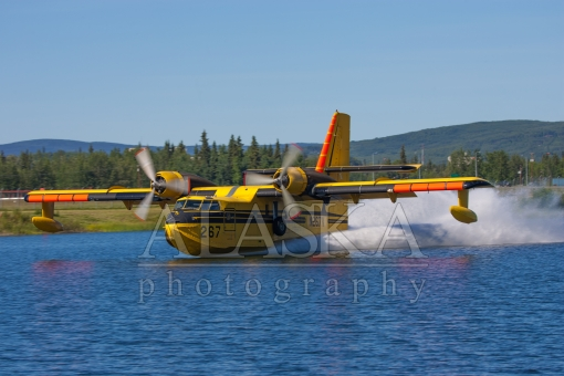 Canadair Water Run
