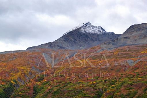 Chugach Red Slopes