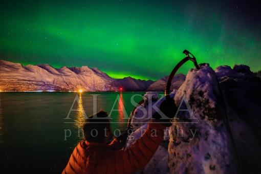 Clinging Under Auroras