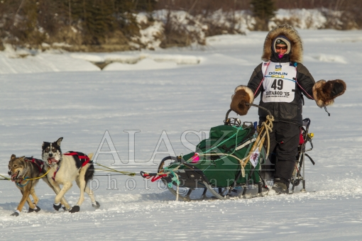 Laura Allaway Race the Iditarod