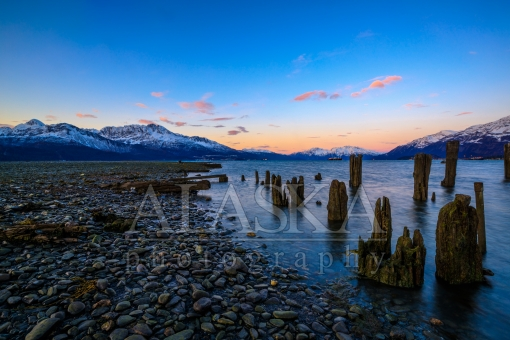 Little Pillars at Low Tide Old Valdez
