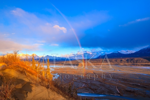 Matanuska Rainbow Sunset