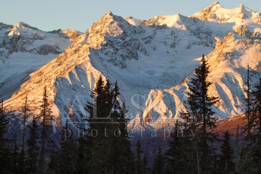 Morning Light on the Alsek Range