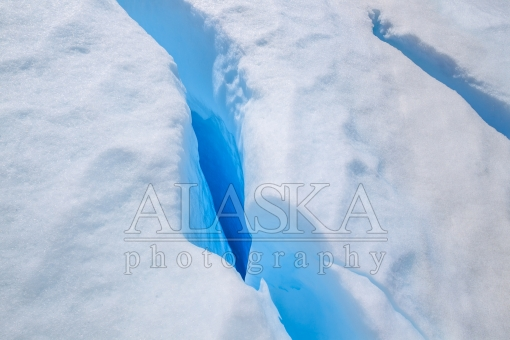 Opening in the Matanuska Glacier