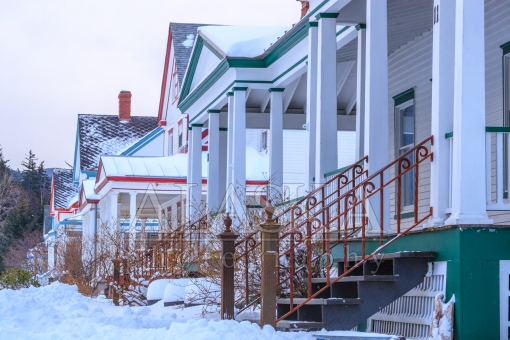 Porches of Fort Seward