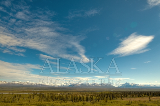 Skies Above the Alaska Range