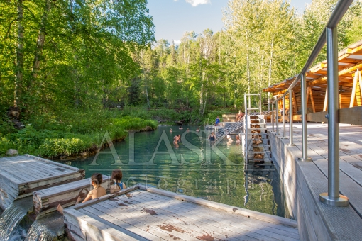 Summer at Liard River Hot Springs