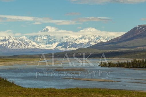 Susitna Headwaters and the Alaska Range