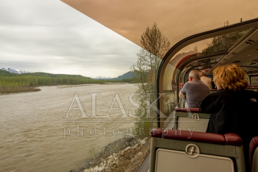 Susitna River From the Train