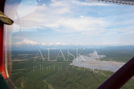 Susitna River and the Alaska Range