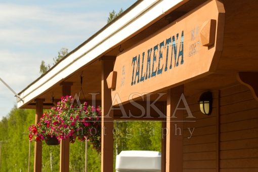 Talkeetna Train Station