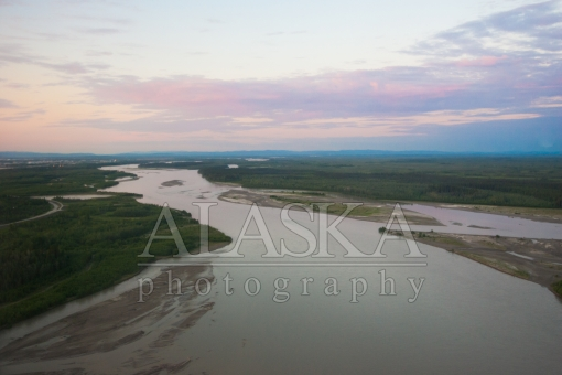 Tanana River at 1am