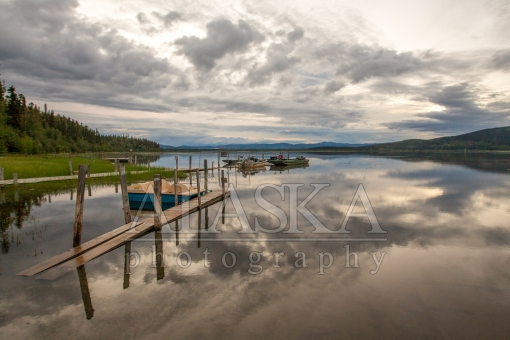 The Docks at Quartz Lake