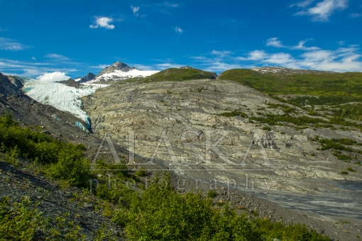 Worthington Glacier Receded